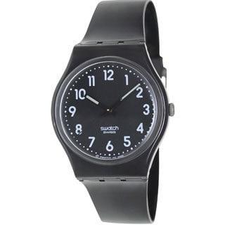 Swatch Women's Originals Black Plastic Quartz Watch