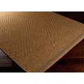 Sivas Meticulously Woven Brown Casual Solid Rug (3'11 x 5'7)