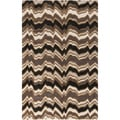 Candice Olson Modern Classics Hand-tufted Contemporary Chevron Stripes Wool Rug (3'3 x 5'3)