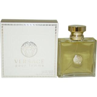 Versace 'Pour Femme' Women's 3.4-ounce Eau de Parfum Spray