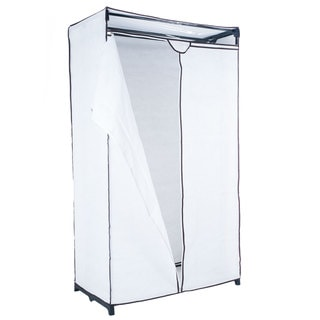 Trademark Home White Portable Storage Closet