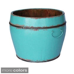 Round Household Decorative Bucket (Refurbished)