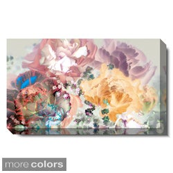 Studio Works Modern 'Scented Bloom - Pastel Cream Rose' Gallery Wrapped Canvas Art