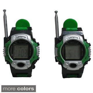 Two-way Radio Walkie Talkie Watch (Set of 2)