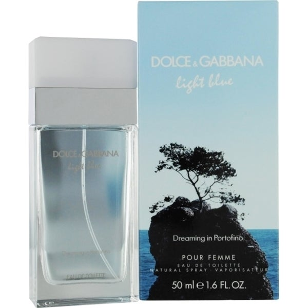 Dolce & Gabbana Light Blue Dreaming In Portofino Women's 1.6-ounce Eau de Toilette Spray