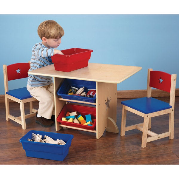 KidKraft Star Table and Chair Set Overstock Shopping