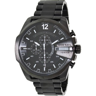 Diesel Men's DZ4283 Mega Chief Black Watch