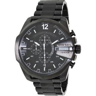 Diesel Men's DZ4283 Mega Chief Black Watch