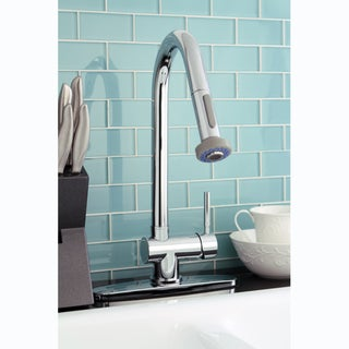 Pullout Spout Chrome Kitchen Faucet