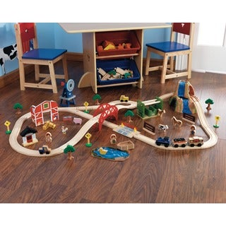 KidKraft Farm Train Set