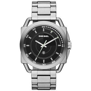 Diesel Men's Stainless Steel Black Dial Watch