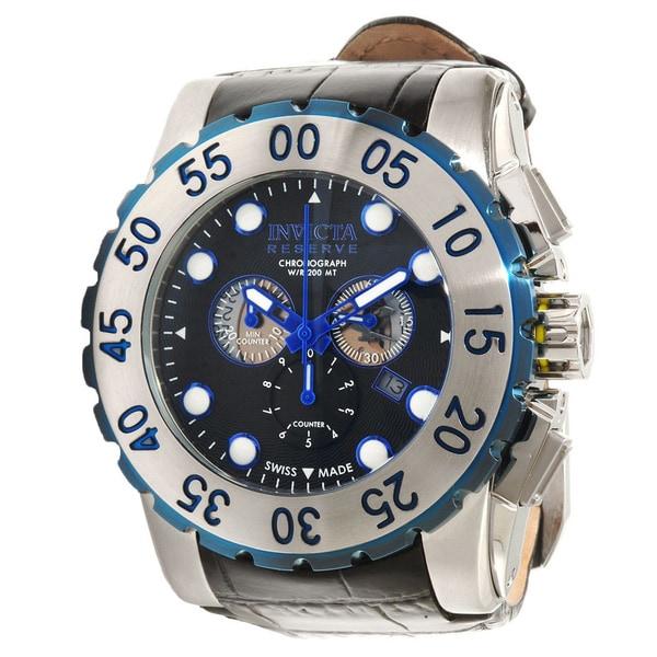 Invicta Reserve Men's Black Dial Chronograph Watch