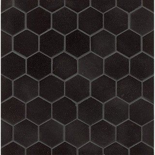 Absolute Black Granite Hexagon Mosaic Polished (Box of 10 sheets)