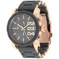 Diesel Women's Black Stainless-Steel Analog Black Dial Quartz Watch