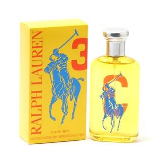 Ralph Lauren 'Polo Big Pony Collection Ladies #3' Women's 3.4-ounce Eau de Toilette Spray