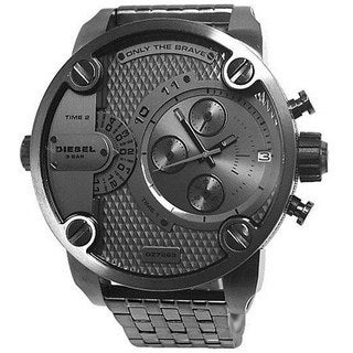Diesel Men's DZ7263 'Mr Daddy' Grey Oversized Chronograph Stainless Steel Watch