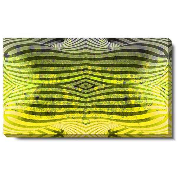 Studio Works Modern 'Rio Bio Bio - Yellow' Gallery Wrapped Canvas Art