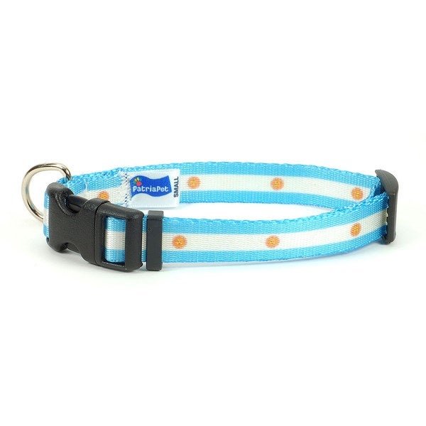 Argentina Flag Dog Collar