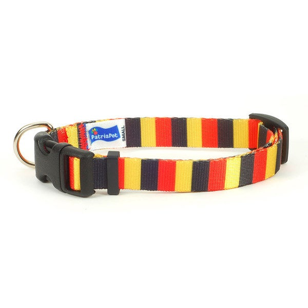 Belgian Flag Dog Collar
