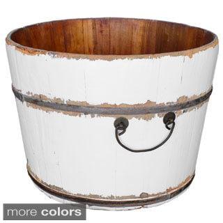 Wooden Rice Bucket