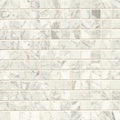 White Carrara Marble Mosaic Polished Tiles (Box of 10 Sheets)