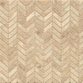 Cappuccino Marble Chevron Mosaic Polished (Box of 10 Sheets)