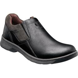 Men's Nunn Bush Brule Black Tumbled Leather