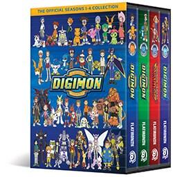 Digimon Collection: Seasons 1-4 (DVD)