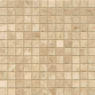 Cappuccino Marble Mosaic Polished Tiles (Box of 10 Sheets)