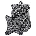 O3 Munich Skulls School Backpack with Detachable Lunch Cooler