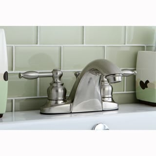 Knight Satin Nickel Bathroom Faucet