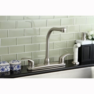 Classic Satin Nickel Kitchen Faucet