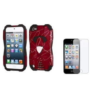 BasAcc Case/ Anti-glare Screen Protector for Apple iPod Touch 5