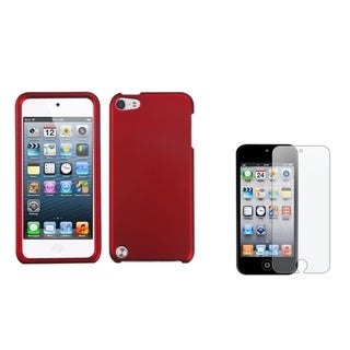 INSTEN iPod Case Cover/ Anti-glare Screen Protector for Apple iPod Touch 5