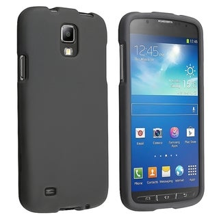 BasAcc Black Rubber Coated Case for Samsung� Galaxy S4 Active I9295