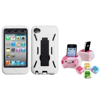 BasAcc Black Case with Stand/ Plush Holder for Apple iPod Touch 5