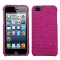BasAcc Hot Pink Diamante Protector Case for Apple� iPhone 5