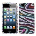 BasAcc Retro Zebra Diamante Protector Case for Apple� iPhone 5