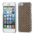 BasAcc Brown Silver Plating/ Golden Alloy Case for Apple iPhone 5