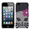 BasAcc Kitty Diamante Protector Case for Apple� iPhone 5