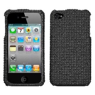 BasAcc Black/ Diamante Case for Apple iPhone 4S/ 4