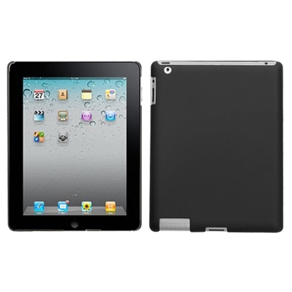 INSTEN Black Tablet Case Cover for Apple iPad 1/ 2/ 4 with Retina Display