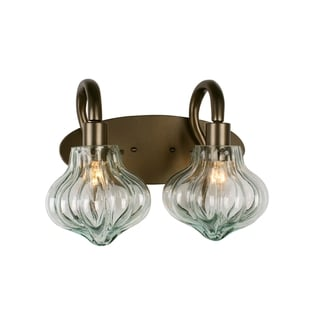 Varaluz Tusk 2-light New Bronze Vanity Fixture