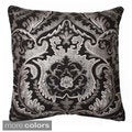 'Shivani' Foil Print Beaded Throw Pillow