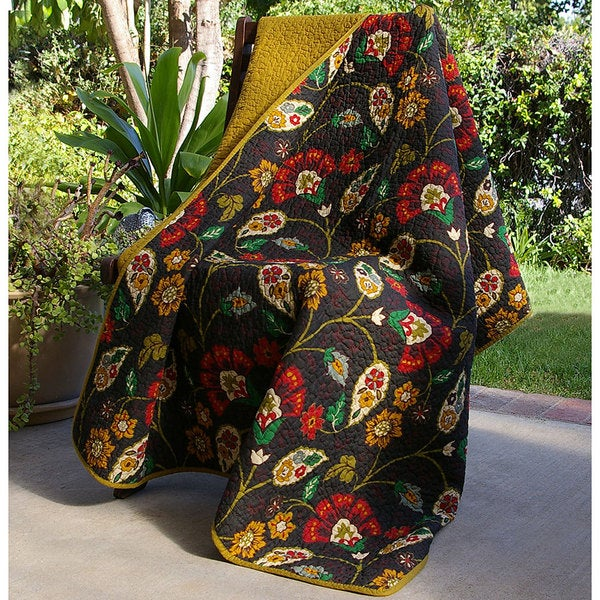 Greenland Home Fashions Moraga Quilted Throw