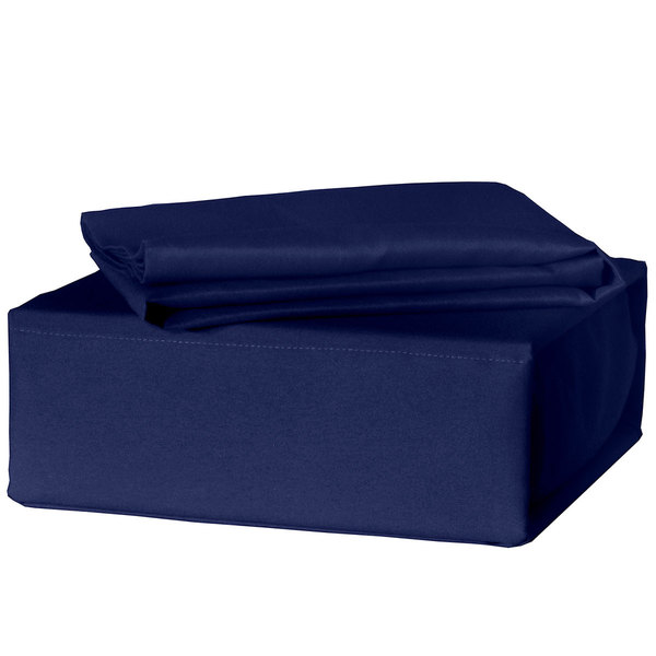 Veratex Soccer Locker Navy 300 Thread Count Sheet Set