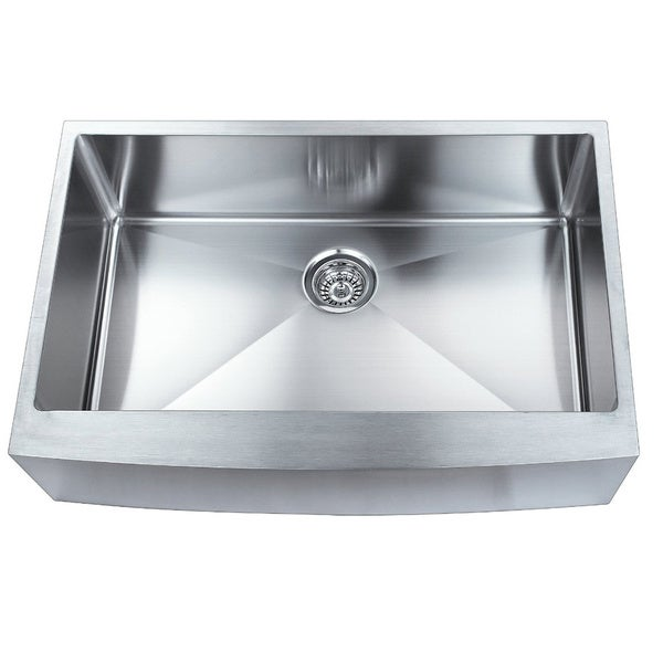 Apron Stainless Steel Sink : ... Apron Front Single Bowl Undermount 304 Stainless Steel Kitchen Sink