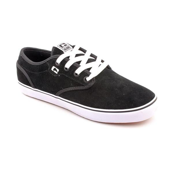 Globe Men's 'Motley' Regular Black Suede Athletic Shoe