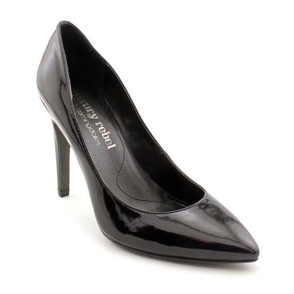 Luxury Rebel Women's 'Victoria' Black Patent Leather Dress Shoes