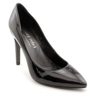 Luxury Rebel Women's 'Victoria' Black Patent Leather Dress Shoes
